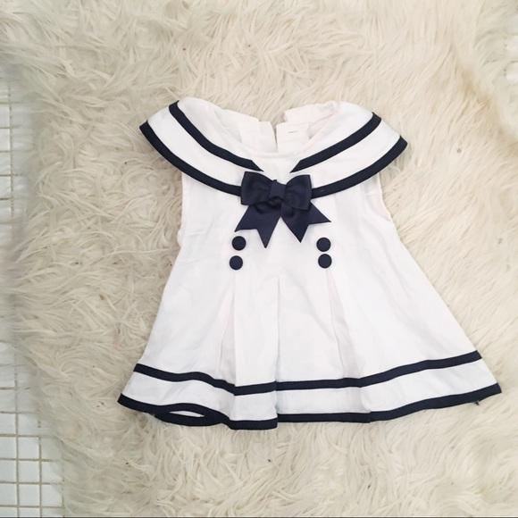 Rare, Too! Other - Vintage Infant Sailor Inspired Dress